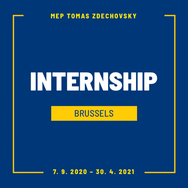 We are looking for interns for period September 2020 to April 2021